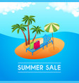summer sale concept 02 vector image