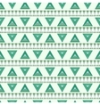 Pattern of striped triangles vector image