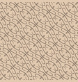 abstract beige plant pattern backdrop vector image