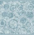 abstract circles seamless pattern decorative vector image vector image