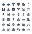 basolid web icons vector image