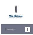 creative trimmer logo design flat color logo vector image