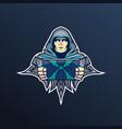 esper esport mascot logo design mascot logo vector image vector image
