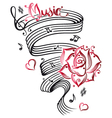 music sheet vector image vector image