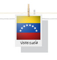 photo of venezuela flag vector image