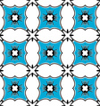 Seamless ornate pattern vector image vector image