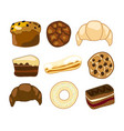 sweet bakery clipart vector image