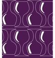 Vintage seamless pattern with red wine glass vector image vector image