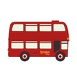 london bus uk icon graphic vector image