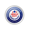 American quality vector image
