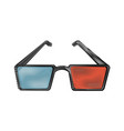 3d glasses icon image vector image vector image