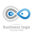 bussines infinity company corporate vector image