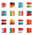 flags - europe part 2 vector image