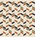 Retro zig zag seamless pattern scandinavian