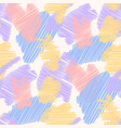 seamless pattern in doodle style vector image vector image