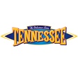Tennessee The Volunteer State vector image vector image