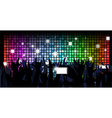 Colorful crowd of party people vector image vector image