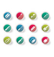make-up icon set health and beauty icons vector image vector image