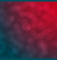 red and blue abstract bokeh background vector image
