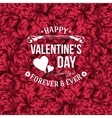 Valentine day typography design Background with vector image