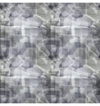 Grey geometric abstract pattern vector image