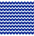 abstract pattern blue and white vector image