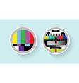 Tv colour test vector image