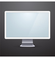 Modern computer display vector image