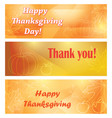 backgrounds with pumpkin for thanksgiving vector image