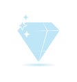 diamond expensive color vector image vector image