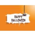 halloween spider background 2508 vector image vector image