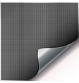 Metal grill background vector image vector image