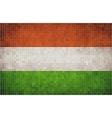 Mosaic Flag of Hungary vector image vector image