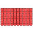 roof tiles texture beautiful banner wallpaper vector image vector image