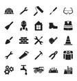 construction tools icon vector image vector image