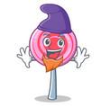 elf cute lollipop character cartoon vector image vector image