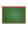 school green board in cartoon style vector image vector image