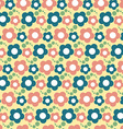 Seamless Flower Pattern Floral Background vector image vector image
