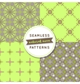 Seamless pattern sets natural neon vector image vector image