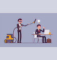 stealing business ideas vector image