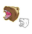 wolverine mascot vector image