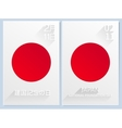 Japan National Foundation day11 february vector image