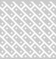 Abstract seamless pattern background grey brick vector image