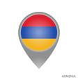 armenia point vector image vector image