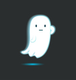 Cute Ghost Single 4 vector image vector image