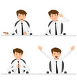 emotions communication plea charm joy vector image