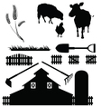 farm life vector image