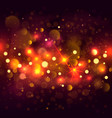 glittering bokeh background of vector image vector image