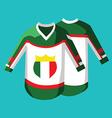 Hockey Sportswear Pullover vector image