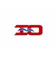 iQ company logo vector image vector image